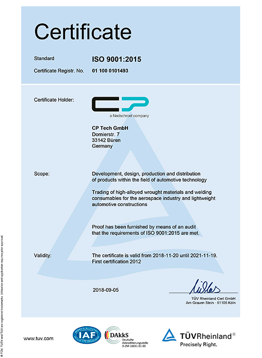 Download Certificate ISO 9001