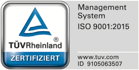 Certified according to DIN 9120